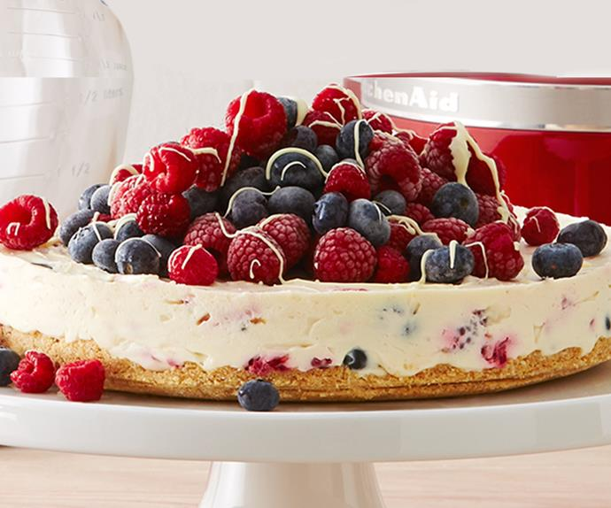 australia day cheesecake