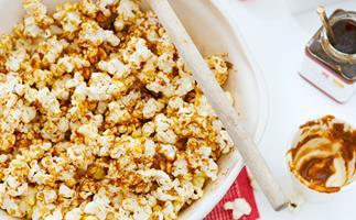 Vanilla dulce de leche popcorn