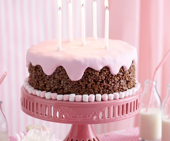 coco crackle pop cake