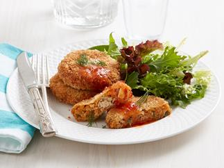 salmon and dill patties