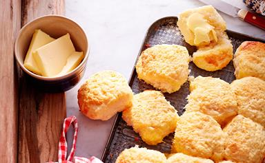 Mum's cheese scones