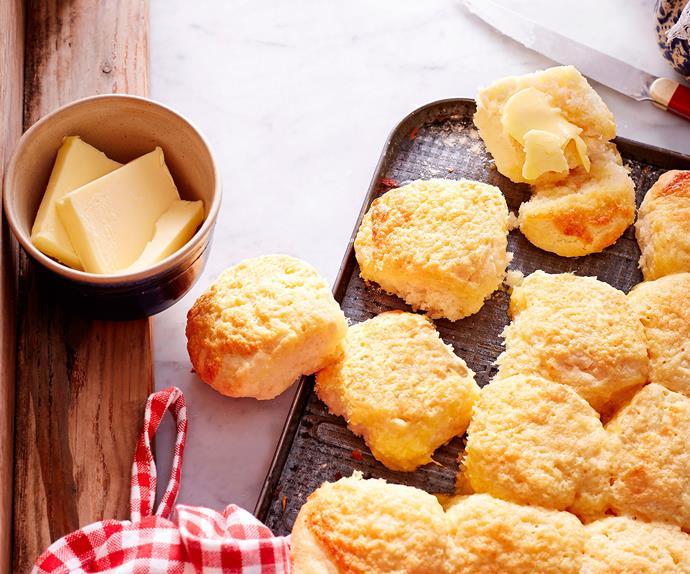 Mum's cheese scones