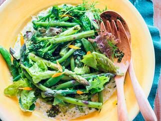 A real green salad