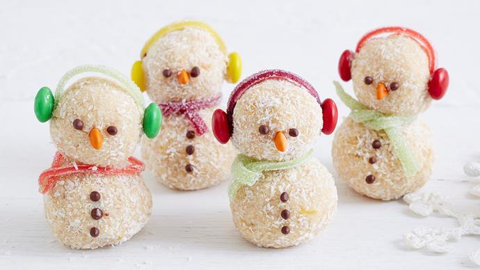 coconut snowmen