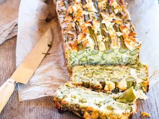 Christmas leftover vegetable loaf