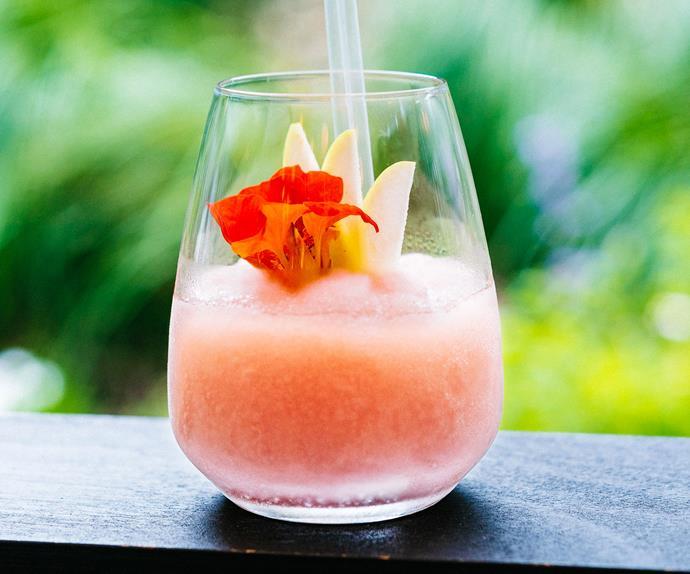 Frosé (frozen rose cocktail)