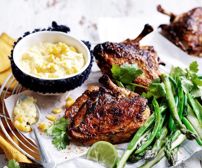 Cajun roast chicken