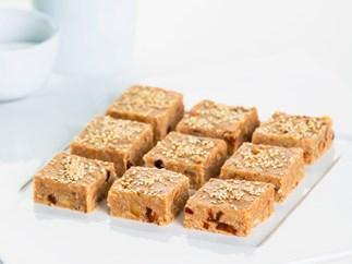 The Boat Shed Café's ginger nut slice