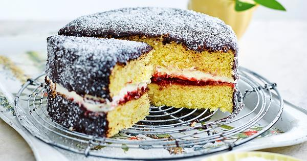 Sponge Cake With Plain Flour