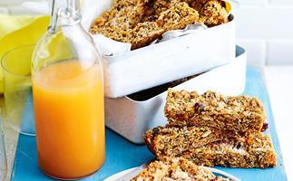 orchard muesli slice