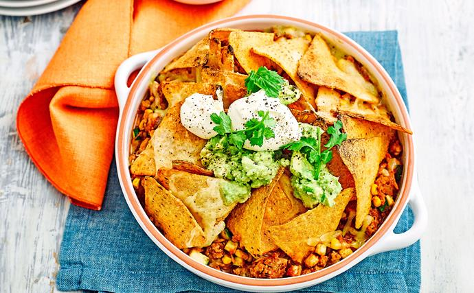 Mexican mince bake