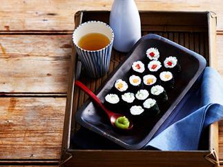 Mini sushi rolls