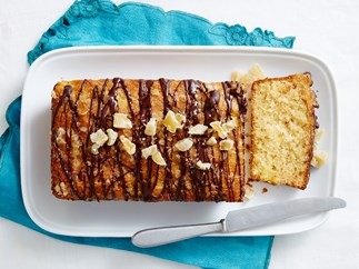 pineapple, ginger and dark chocolate loaf