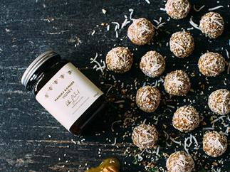 Crown Range Cellar manuka and ginger honey bliss balls