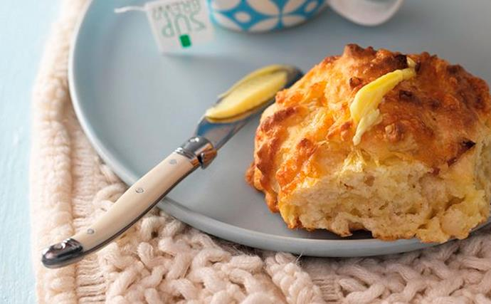 Cheese and bacon scones