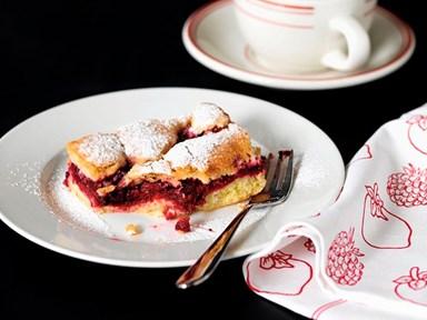 Ritual Espresso Café's gluten-free apple and boysenberry slice
