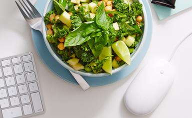 Tips for eating healthily when you're at the office