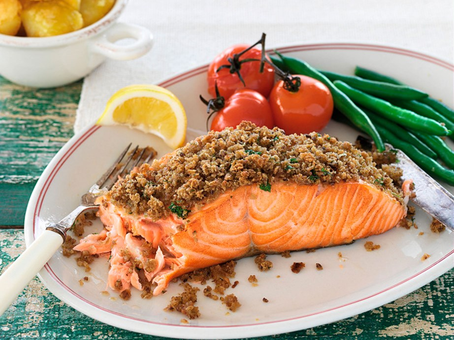 "[Tarragon and dill-crusted salmon](https://www.foodtolove.co.nz/recipes/tarragon-and-dill-crusted-salmon-7012|target=""_blank"")"