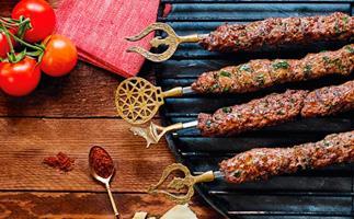 Turkish beef kebabs