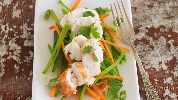 Thai-style crayfish salad
