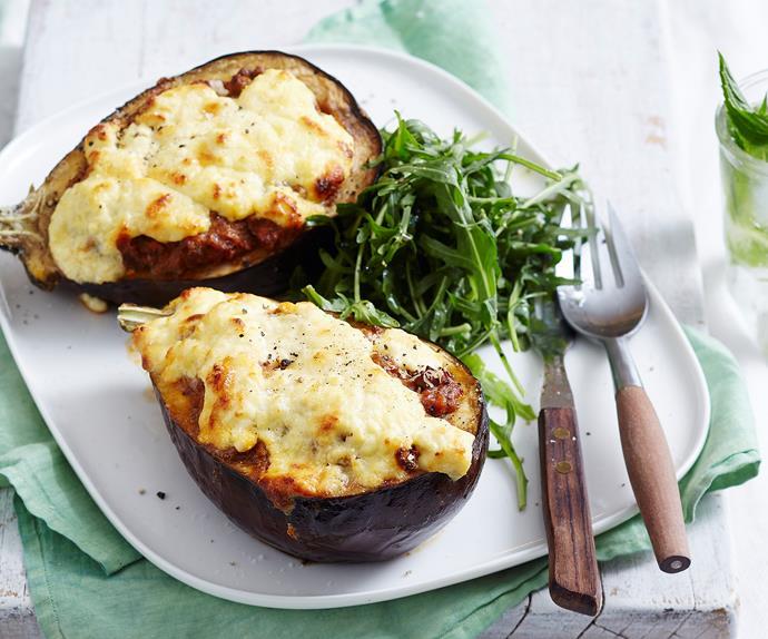 eggplant moussakas