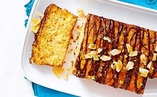 Pineapple, ginger and chocolate loaf