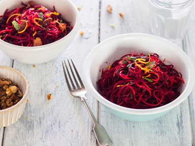 Beetroot and orange superfood salad