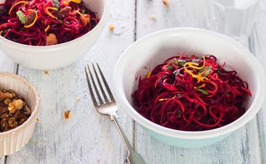 Beetroot and orange superfood salad