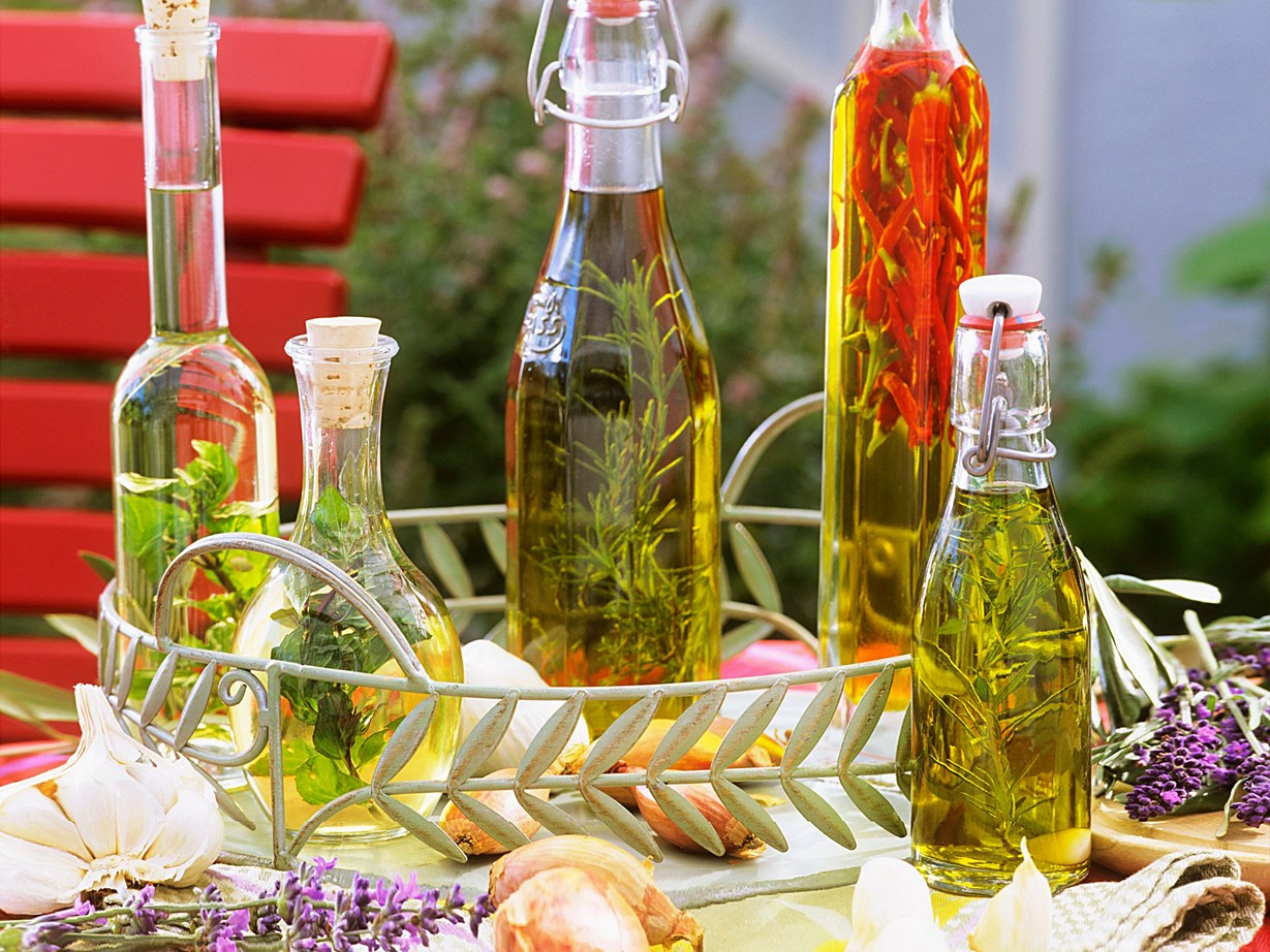 """It's easy to make your own [infused oils](http://www.foodtolove.co.nz/how-to-make-your-own-infused-oils-36672 target=""""_blank"""")."""