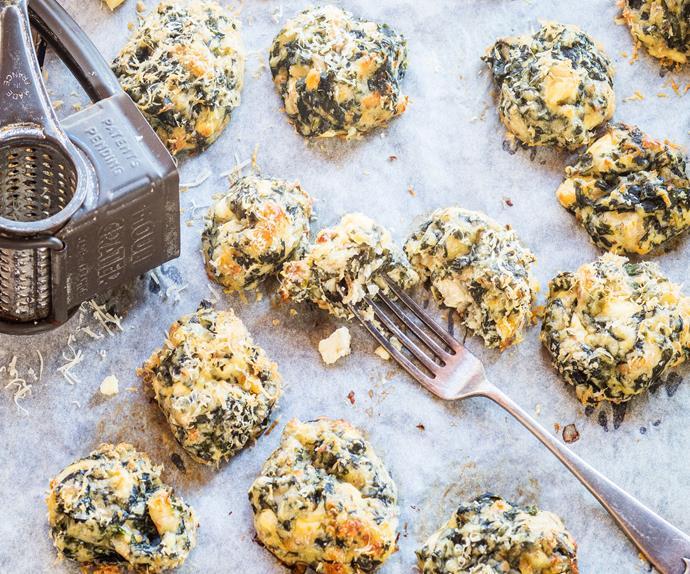 Silverbeet and parmesan balls