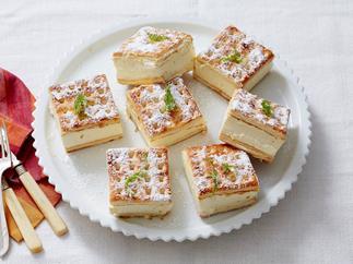 lattice biscuit citrus cheesecake