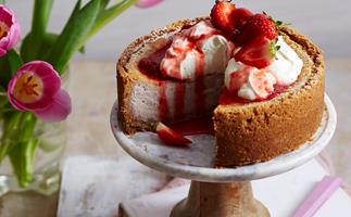 Baked cheesecakes