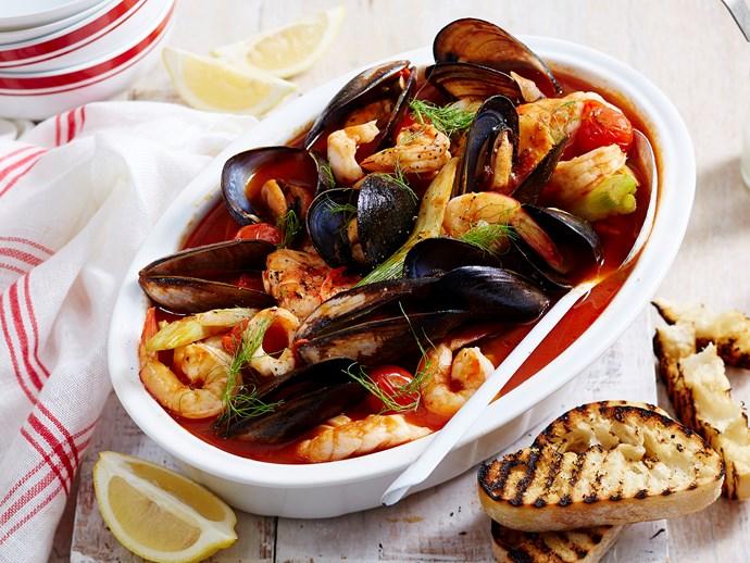 italian-style seafood stew
