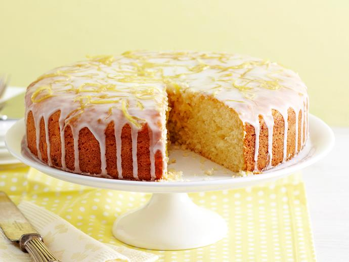 "**[Luscious lemon cake](https://www.womensweeklyfood.com.au/recipes/luscious-lemon-cake-2150|target=""_blank"")**  Add a little zest to your baking!"