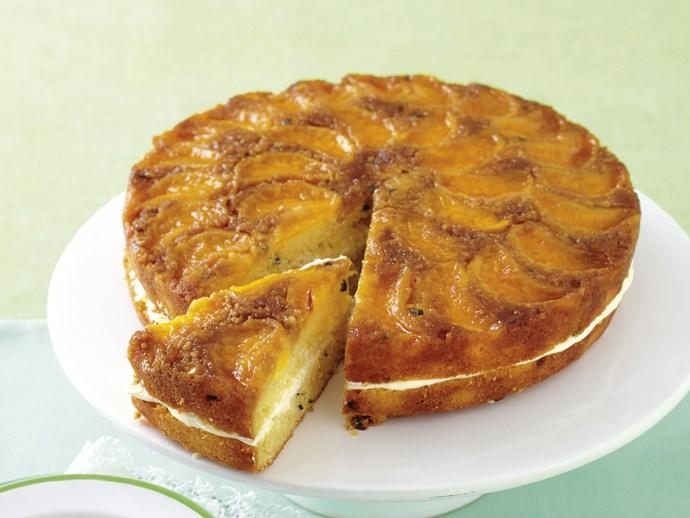 mandarin and passionfruit cake