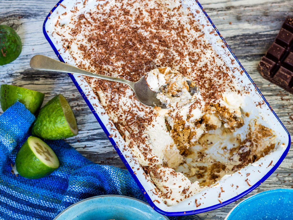 "[Feijoa ginger mascarpone](http://www.foodtolove.co.nz/recipes/feijoa-ginger-mascarpone-36868|target=""_blank"")"