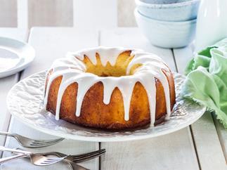 Grapefruit and marmalade cake