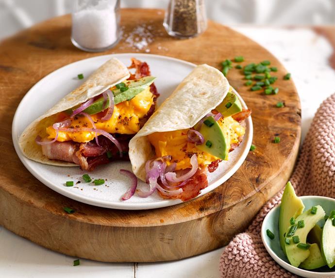 Morning tacos