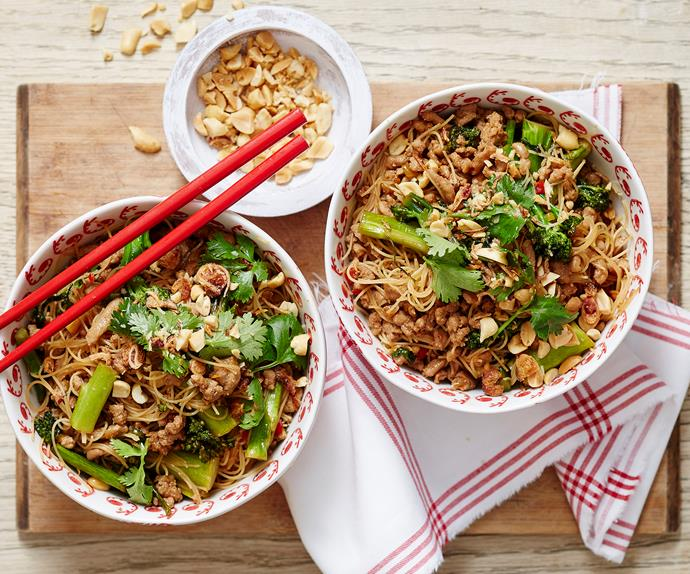 sticky thai pork recipe
