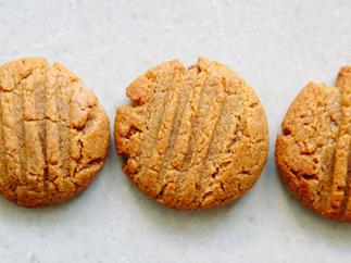 Flourless almond butter and miso biscuits