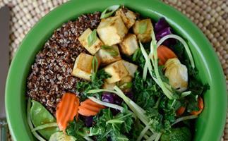 Taylor Farms Teriyaki with tofu and quinoa