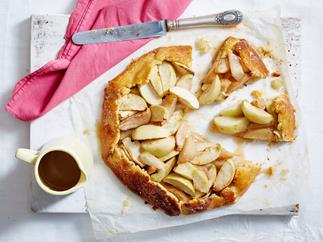 apple and pear free form tart recipe
