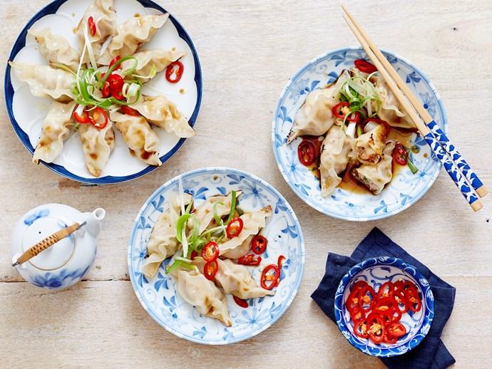 pork and prawn gyoza recipe