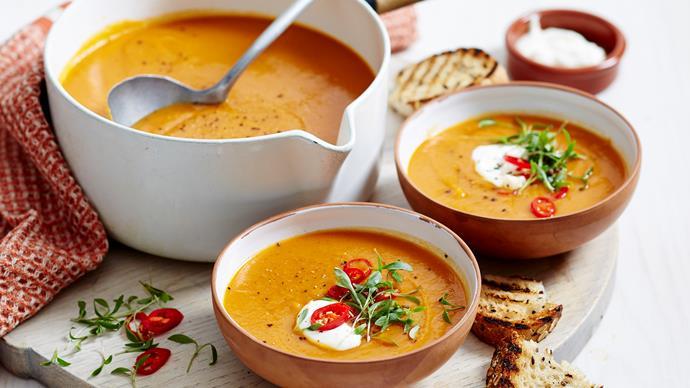 vegetable and lentil soup recipe
