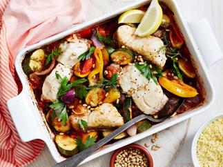 mediterranean fish bake recipe