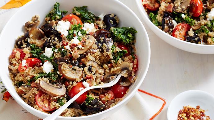 quinoa risotto recipe