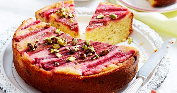 Rhubarb Upside Down Cake Food To Love