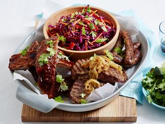 barbecued meat platter recipe