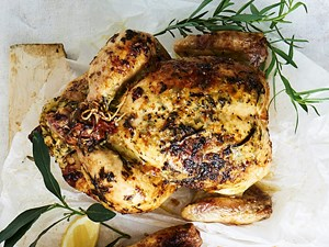 French-style roast chicken