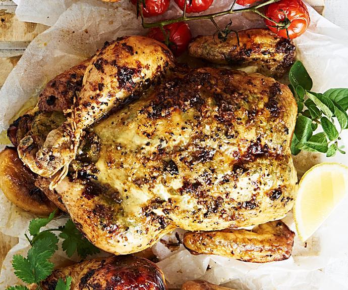 asian style roast chicken recipe